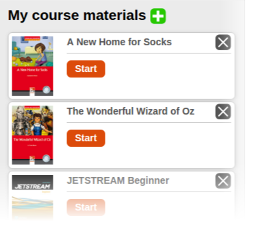 Managing your course material